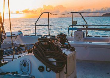 Wanderlust Adventures yacht deck