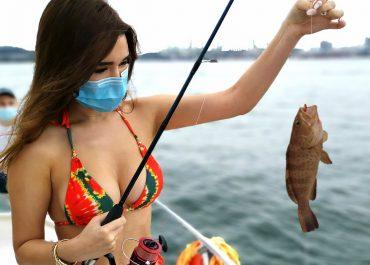 fishing lady angler