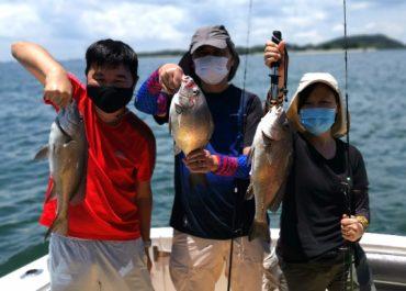 fishing triple snapper