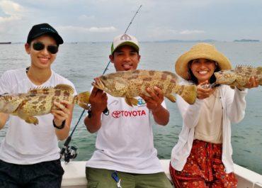 fishing triple grouper