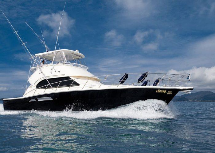 Wanderlust Adventures Yacht Reel Blue - 3